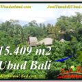 FOR SALE Magnificent PROPERTY 15,490 m2 LAND IN UBUD BALI TJUB568