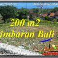 200 m2 LAND SALE IN JIMBARAN TJJI104