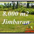 Magnificent 8,000 m2 LAND IN JIMBARAN BALI FOR SALE TJJI109