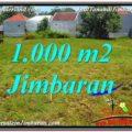 Exotic PROPERTY 1,000 m2 LAND SALE IN Jimbaran Ungasan BALI TJJI108