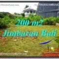 FOR SALE Beautiful PROPERTY 200 m2 LAND IN JIMBARAN BALI TJJI107