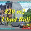 820 m2 LAND IN UBUD BALI FOR SALE TJUB643