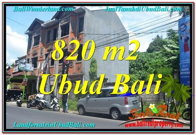 Exotic PROPERTY LAND SALE IN UBUD TJUB643