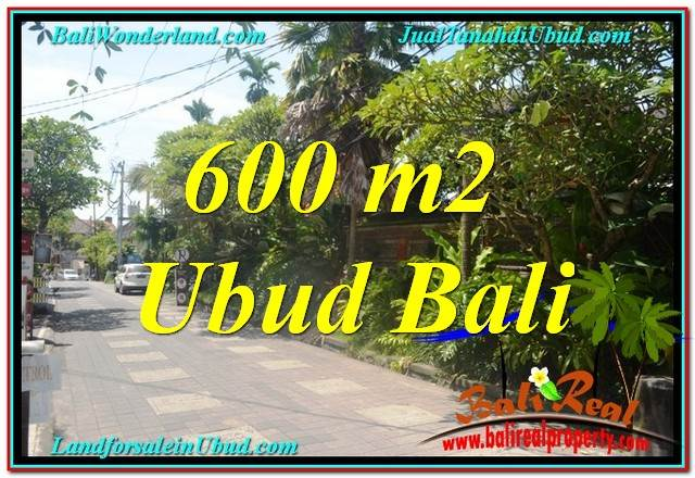 Exotic PROPERTY LAND FOR SALE IN UBUD TJUB644