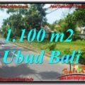Exotic 1,100 m2 LAND SALE IN UBUD BALI TJUB645